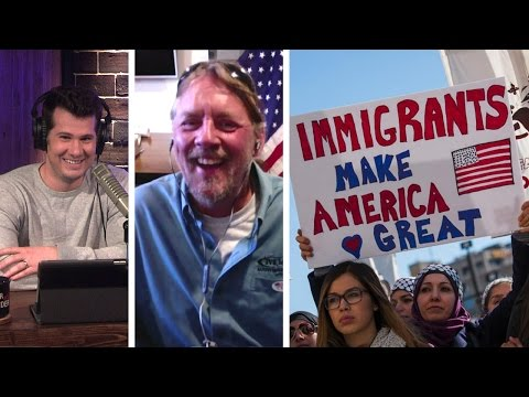 LOL: Business Owner Fires #DayWithoutImmigrants Protestors! (EXCLUSIVE INTERVIEW)
