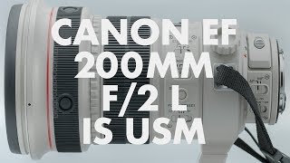 Lens Data - Canon EF 200mm f/2 L IS USM Review