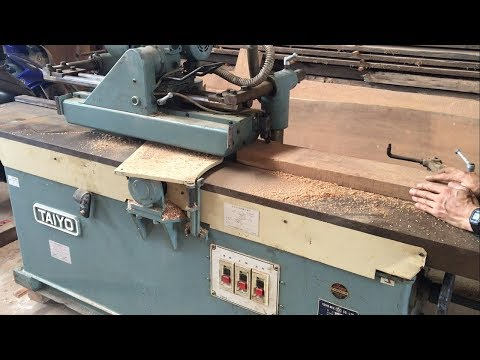 Amazing Woodworking Machines Automatic Surface Planer Japanese