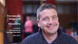 Parole De Stagiaire : Alexandre, En Formation De Praticien Massage Bien-être