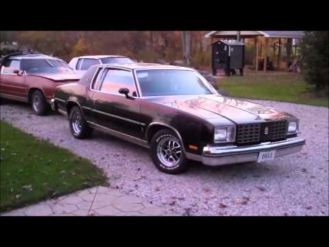 1979 Cutlass Calais New Wheels Classic G-Body Garage