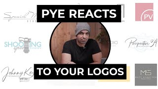 Pye Reacts To Your Logos And Branding