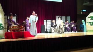 【さんさ時雨】〜第27回日本民謡協会三重渓城会発表会