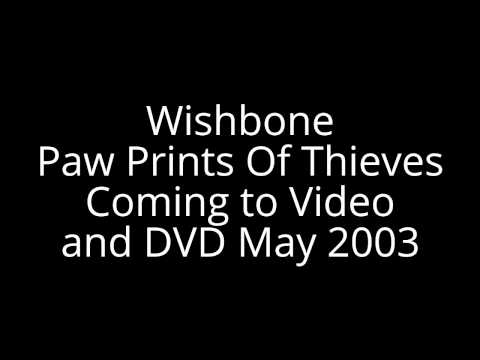 Wishbone Paw Prints Of Thieves VHS And DVD Card
