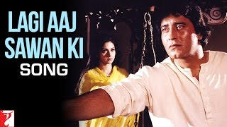 Lagi Aaj Sawan Ki - Song | Chandni | Vinod Khanna | Sridevi