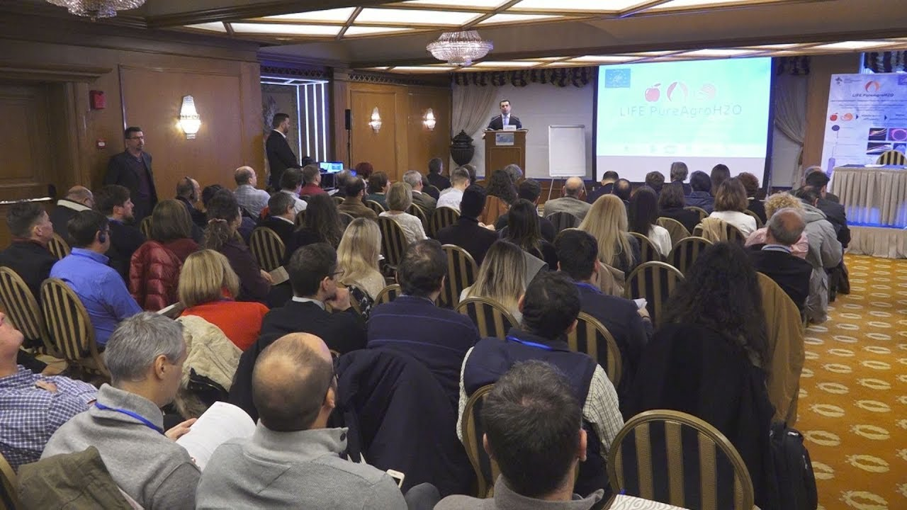 Συνέδριο για την παρουσίαση πρωτοποριακών τεχνολογιών απορρύπανσης και ανακύκλωσης νερού