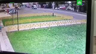 ДТП в Уфе 2018 грузовик раздавил школьницу
