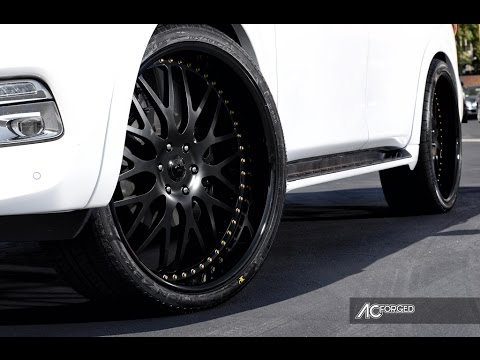 "Infiniti QX 80 2015 On 26"" AC Forged Wheels"