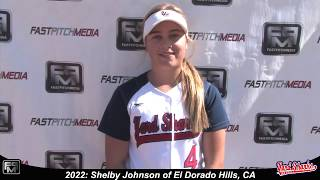 2022 Shelby Johnson Second Base and Outfield Softball Skills Video - Ca Yard Sharks