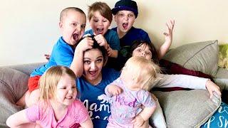 BABYSITTING a House FULL of KIDS!