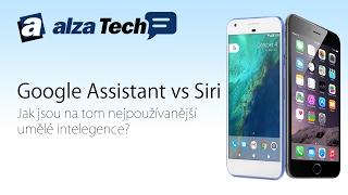 Apple Siri versus Google Asistent: Kdo je lepší? - AlzaTech #479