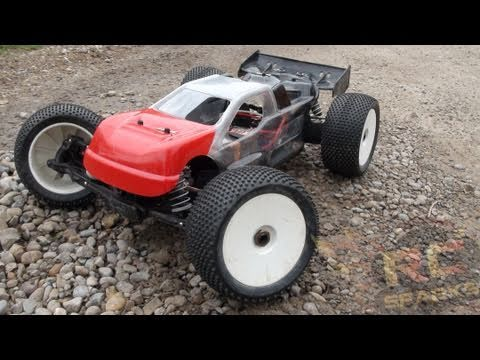 "RC ADVENTURES - ""Enter The Truggy""  Losi 8ight -T Electric Conversion"