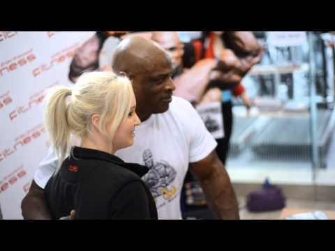 Mr Olympia Ronnie Coleman At Bodyworkshop Supplements Adelaide