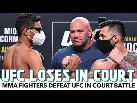 MMA Fighters Defeat UFC In Court Battle