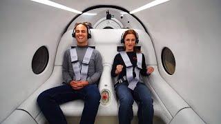 Virgin Hyperloop - First Passenger Test