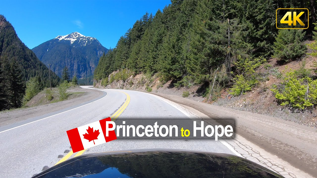 Driving from Princeton to Hope | British Columbia Canada