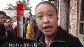 实拍贵州村民勇斗暴力拆迁歹徒