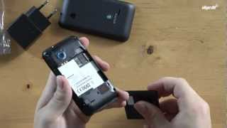 Sony Xperia tipo - Unboxing & Review (deutsch)