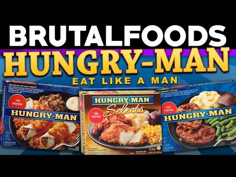 Hungry-Man – TV Dinner Reviews – brutalfoods