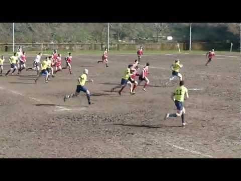 Rugby: gli Unni vanno in meta
