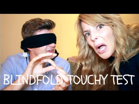 BLINDFOLD TOUCHY TEST WITH DAILYGRACE!
