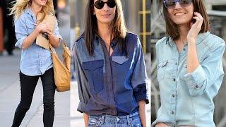 Ways To Style Denim Shirts