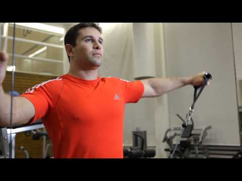 Cable One Arm Lateral Raise - Shoulders Exercise