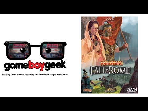 Pandemic: Fall of Rome Review with the Game Boy Geek