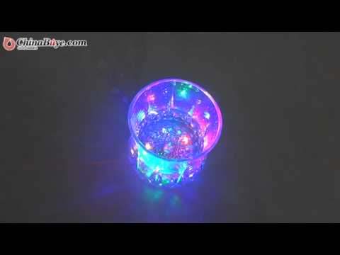 Magic Inductive Color Changing LED Flash Light Cup Mp3