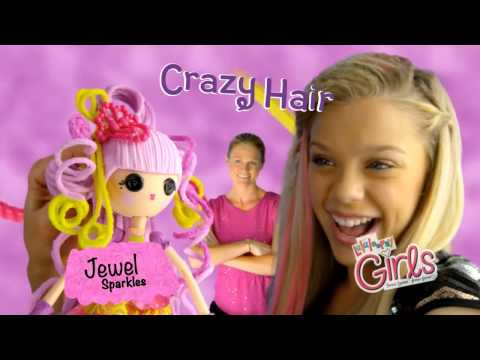 Lalaloopsy Girls Crazy Hair Dolls TV Commercial