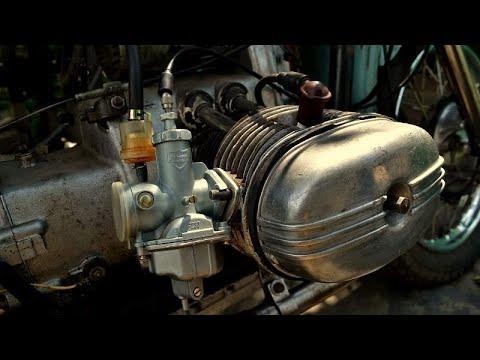 Карбюраторы PZ30 на мотоцикл Урал. Самый простой вариант установки.