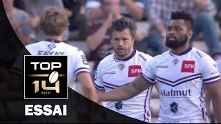 TOP 14 ‐ Essai 1 Adam ASHLEY-COOPER (UBB) – Bordeaux-Bègles-Lyon – J6 – Saison 2016/2017