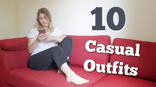 10 COMFY LAZY DAY OUTFITS | BONBONZZ