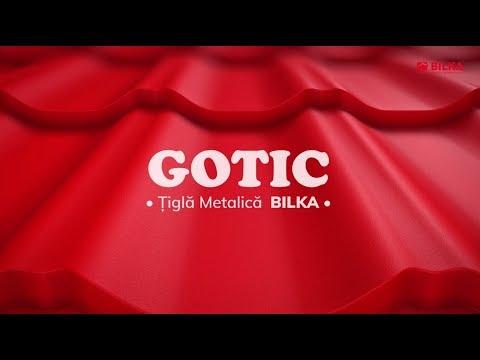 Tigla metalica BILKA Gotic