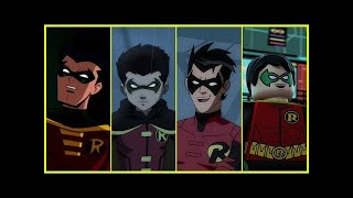 Damian Wayne (Robin) Evolution In Cartoons. (2018)