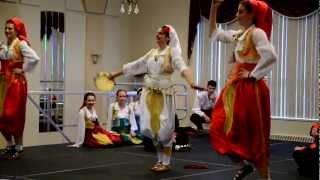 "Serbian Folk Dance at Carassauga 2012 - Српског фолклор ""Врању"""