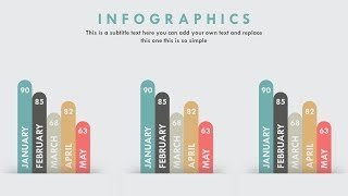 PowerPoint Animation Tutorial Infographic Bar Chart