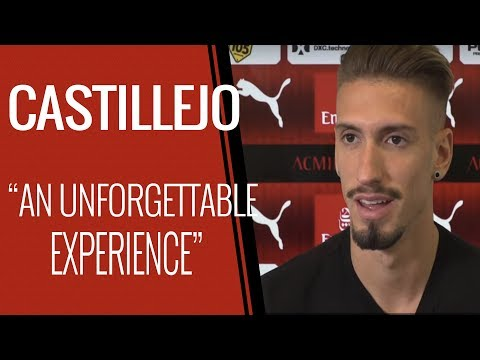 """Castillejo's interview: """"AC Milan is more than a dream"""""""