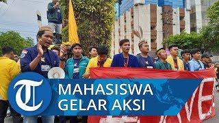 Tolak Pertambangan di Meratus Ratusan Mahasiswa Gelar Aksi Turun ke Jalan