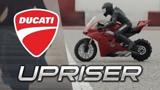 Upriser   A Revolution in RC Technology   Upriser Ducati Panigale V4 S RC Stunt Bike