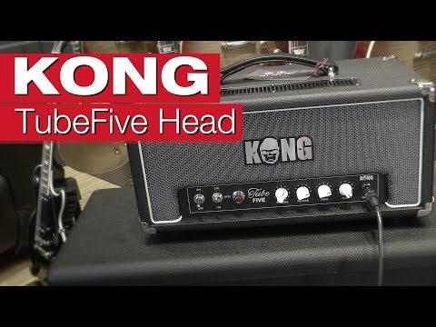 KONG TubeFive Head E-Gitarren-Verstärker-Review von session