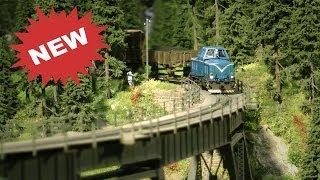 Miniatur Modellbahn Messe Leipzig FullHD