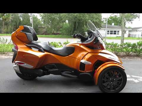 2014 Can-Am Spyder® RT-S SE6 in Sanford, Florida - Video 1