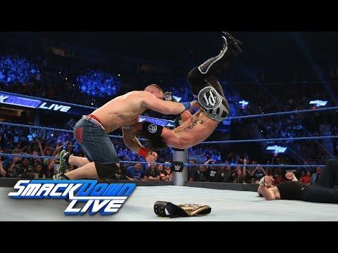 Dean Ambrose vs. AJ Styles - WWE World Championship Match: SmackDown LIVE, Sept. 27, 2016