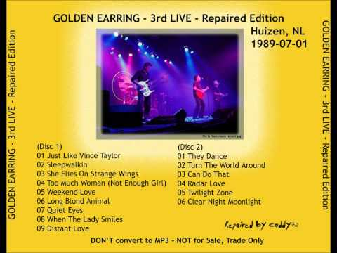 Golden Earring Live @ Huizen 1989 - Just Like Vince Taylor.wmv