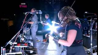 Intervention by Arcade Fire at Reading Festival 2010