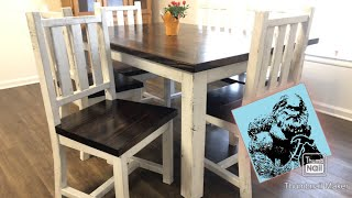 6 DIY Dining Chairs For Less Than $100 (Simple!)
