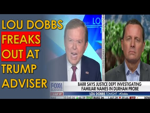 Lou Dobbs FREAKS OUT at Trump Adviser Ric Grenell for not working to STEAL election for Trump
