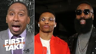 Westbook-Harden can rival any dynamic duo in the NBA – Stephen A. | First Take