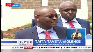Taita Taveta Governor Samboja grilled by DCI